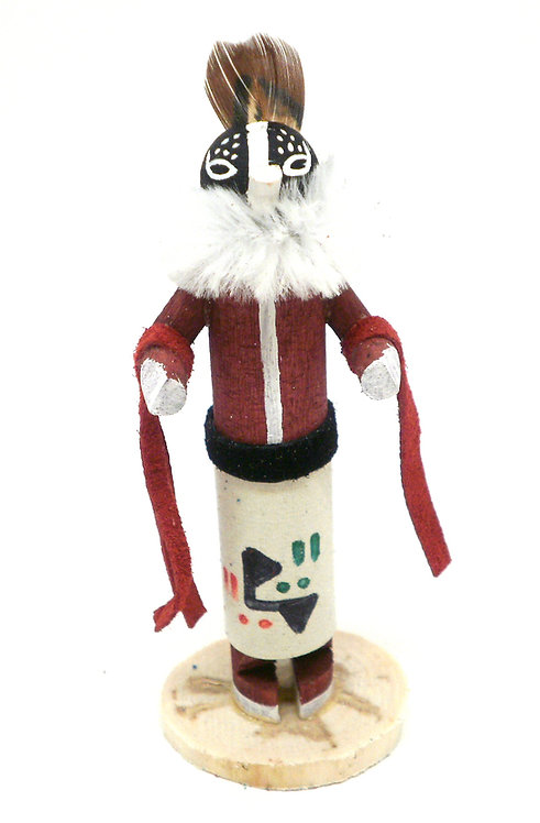 "Kachina Doll ""Kokopella"""