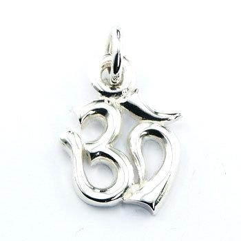 AUM vedhæng medium i 925 sterling sølv