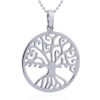 Vedh. Lille rund Yggdrasil, Livets træ i sterlingsølv