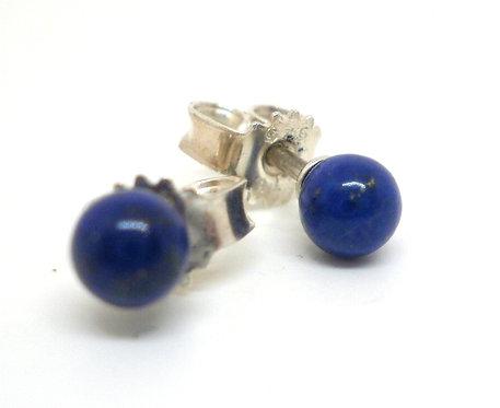 Lieblings, Ørestikker i sterlingsølv med lapis lazuli (925)