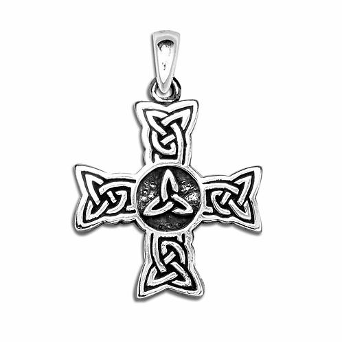 Vedhæng i sterlingsølv, Keltisk kors(925)
