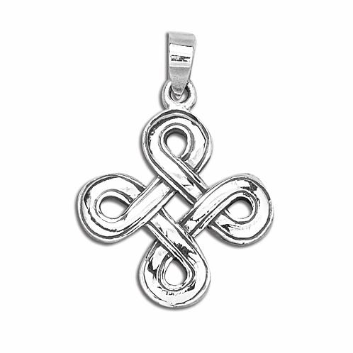 """Vedhæng i sterlingsølv, """"Odin's hjerte"""" (925)"""