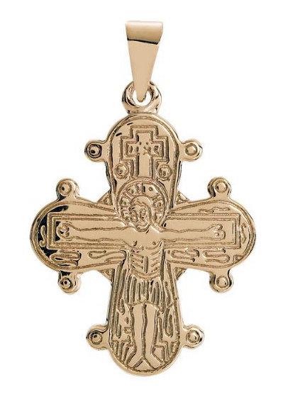 Lund Cph, Vedhæng i 14 kt. guld, Dagmarkors (585)