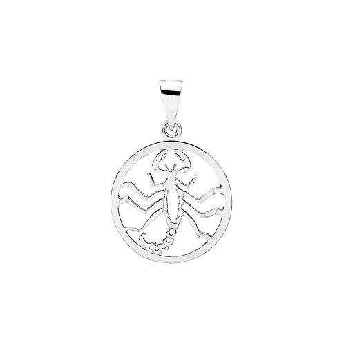 Vedhæng i sterlingsølv, Stjernetegnet Skorpion (925)