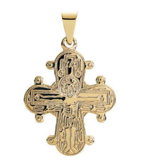 Lund Cph, Vedhæng i 8 kt. guld, Dagmarkors (333)