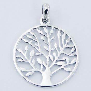 Tree of Life Vedhæng, i sterlingsølv.
