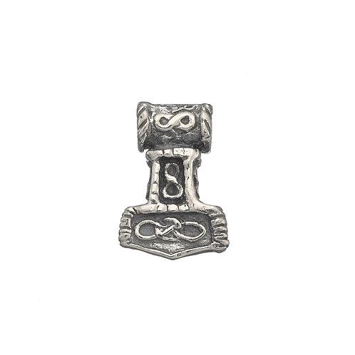 Lund Cph, Vedhæng i sterlingsølv, Thors hammer, lille (925)