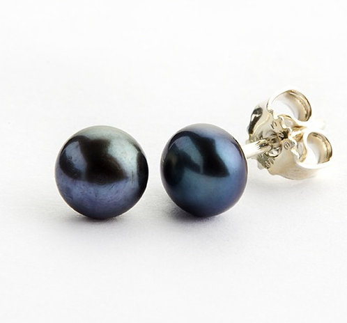 Lieblings, Pearls, Ørestikker i sterlingsølv med peacock ferskvandsperle (925)
