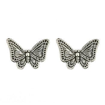 Lille sommerfugl sterling sølv stik
