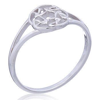 Ring i sterlingsølv, Keltisk knude (925)
