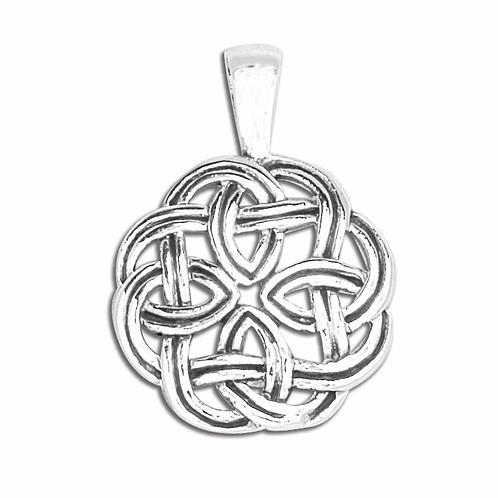 Vedhæng i sterlingsølv, Keltisk knude (925)