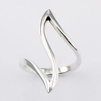 Sterling Sølv Ring wave