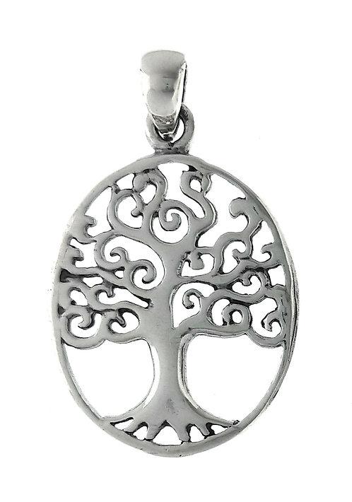 Vedhæng i sterlingsølv, Livets træ (925)