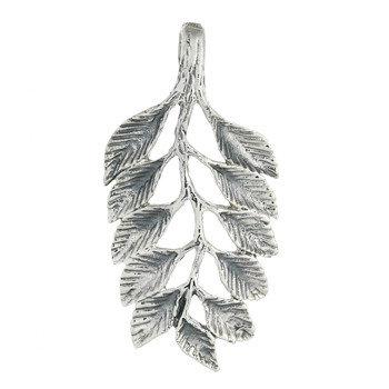 Leaf vedh. 26mm i 925 sterling sølv