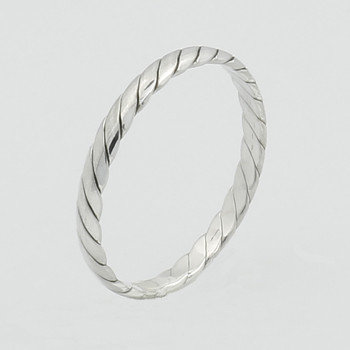 Sterling Sølv Ring 2,5mm twist