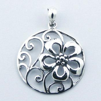 Vedh. Blomster i sterling sølv