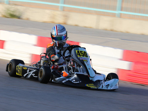 Rookie Shifter Kart Driver William Ferguson Finishes off 2020 In Las Vegas At ROK The RIO