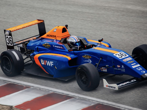 William Ferguson In Points Lead After Round 4 Of Formula Pro USA F4 Western Championship