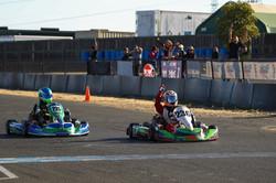 Race 9 Win!