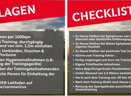 Die Jugendleitung des FV Linkenheim informiert: