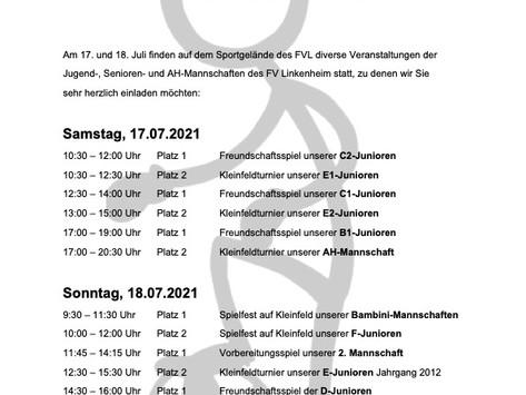 Fußballwochenende des FV Linkenheim