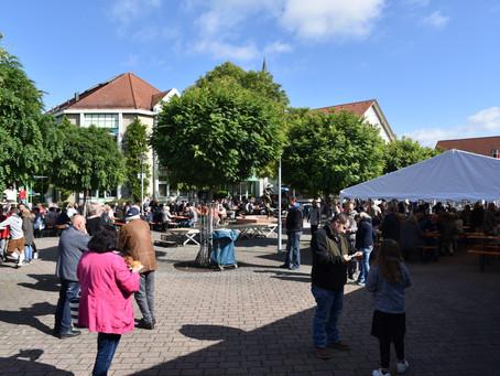 6. Linkenheimer Oktoberfest auf dem Rathausplatz