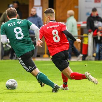FV Linkenheim 1 – KIT Sport-Club 1; 0:1 (0:0)