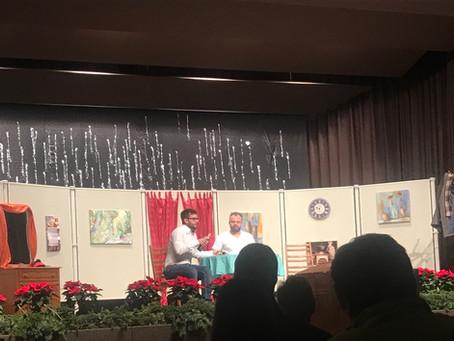 Weihnachtsfeier des FV Linkenheim im Bürgerhaus