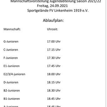Saisoneröffnung Jugendabteilung FV Linkenheim