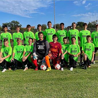 Neues von den C-Junioren: Erfolgreiche Vorbereitung mit 6:1 Sieg bei der JSG-Ubstadt-Weiher beendet