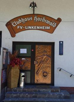 Eingangstür Clubhaus