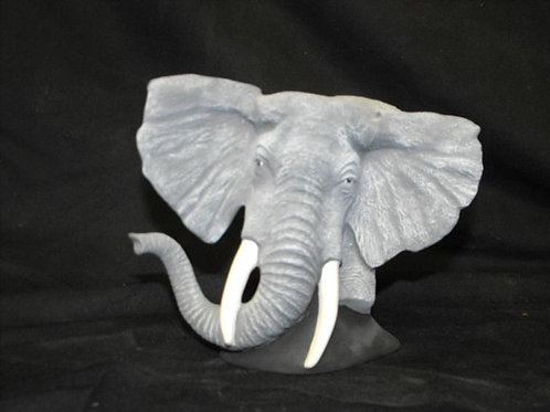 Elephant bust