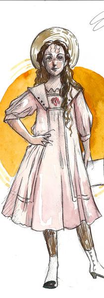 Little Emily Byrd Starr's Costume