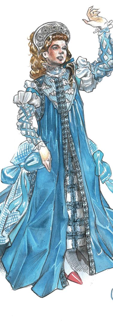 Viola's 3rd Costume