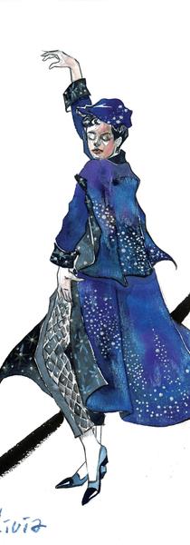 Olivia's 3rd Costume