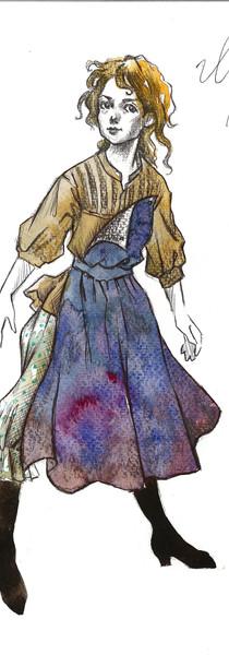 Little Ilse Burnley's Costume