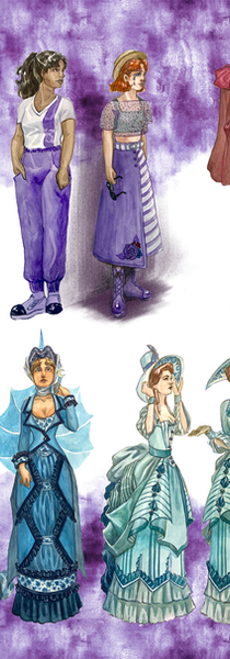 Overall Costumes in Act 3