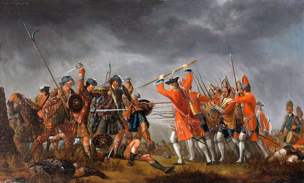 Battle of Culloden 16th April 1746