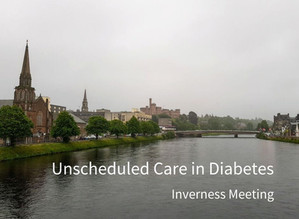 Unscheduled Care in Diabetes - Inverness Meeting