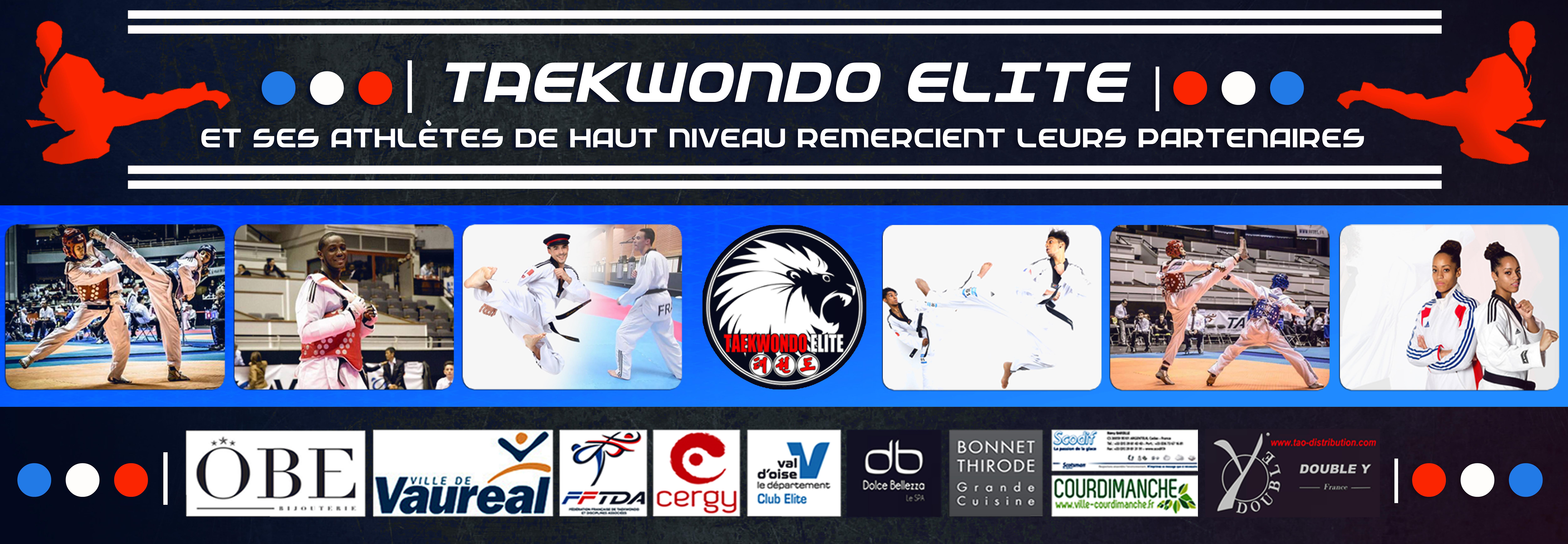 Banderole Taekwondo Elite 2016