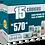 Thumbnail: EAN-13 Pacote com 15 unidades para 15 Produtos