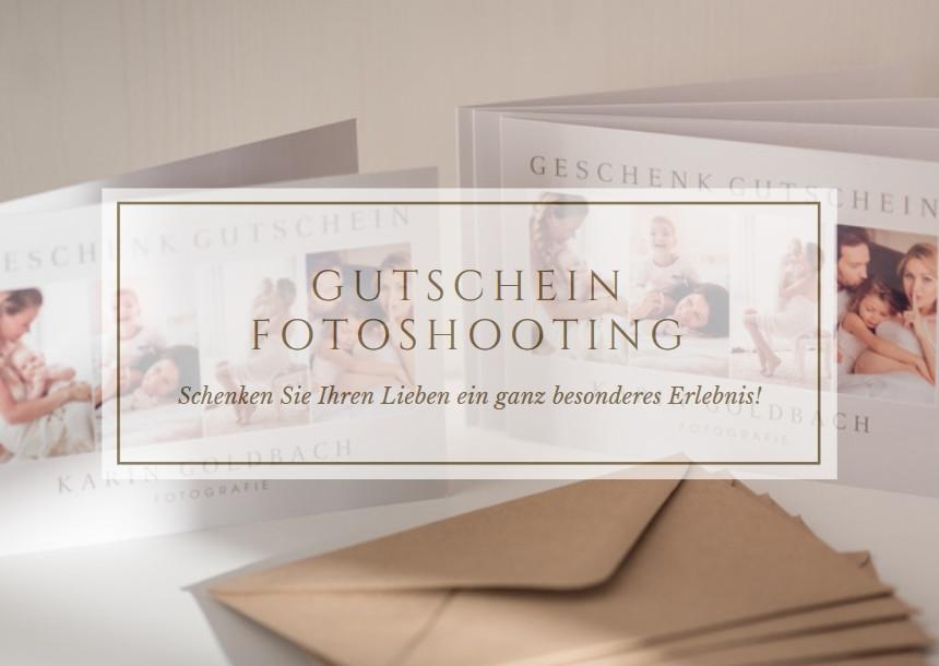Karin Goldbach Fotografie - Geschenk Gutschein für ein Fotoshooting