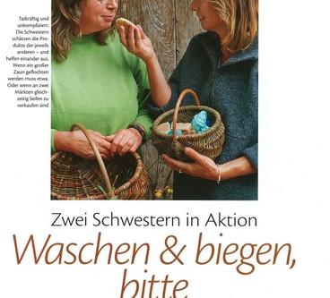LandGarten Reportage - Waschen & biegen bitte