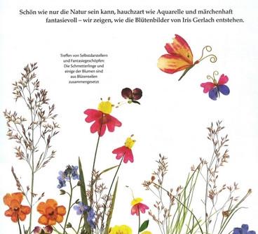 Malen mit Blüten