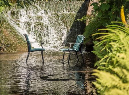 Ein Wassergarten...