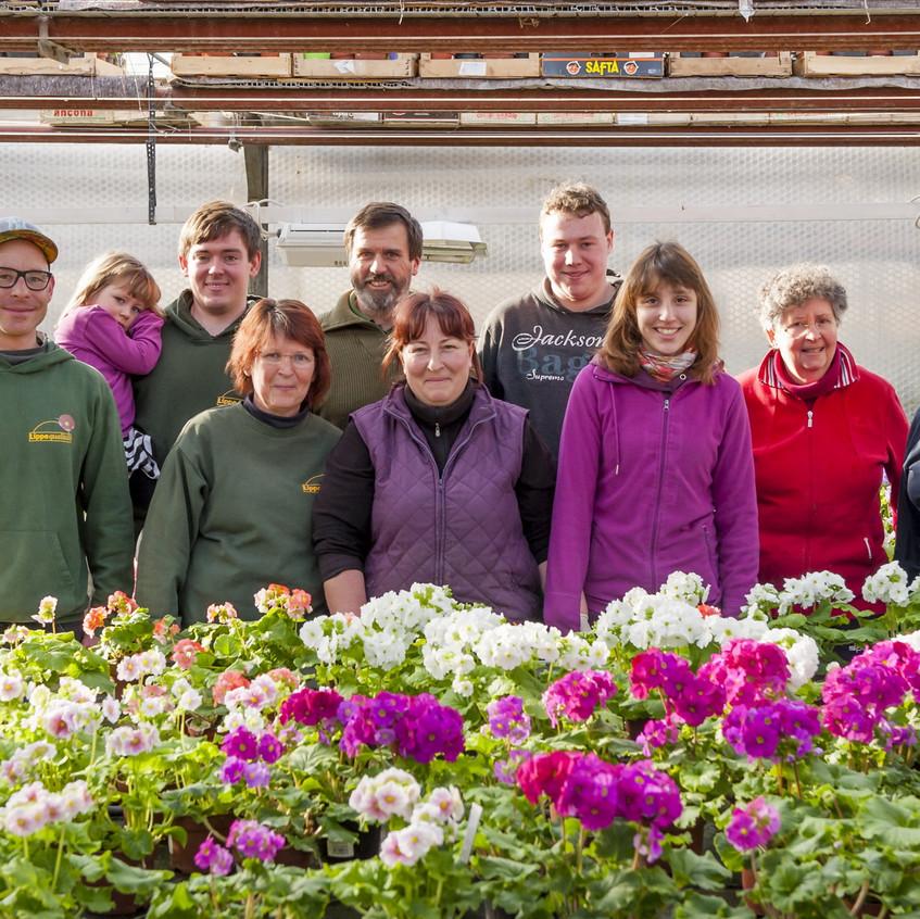 Das Team von Gärtnerei Brüschke