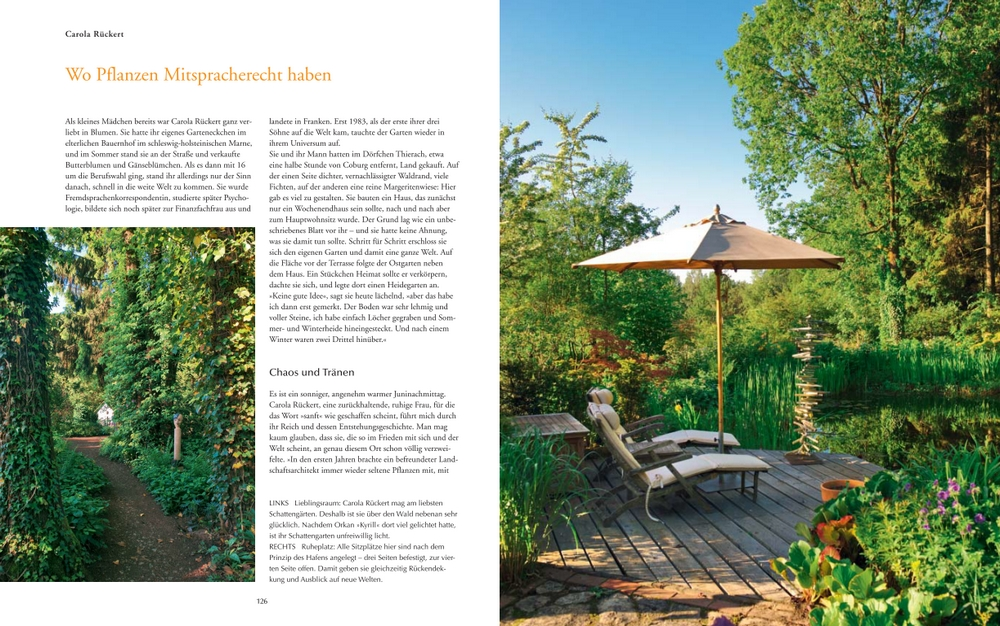 Der Garten von Carola Rückert