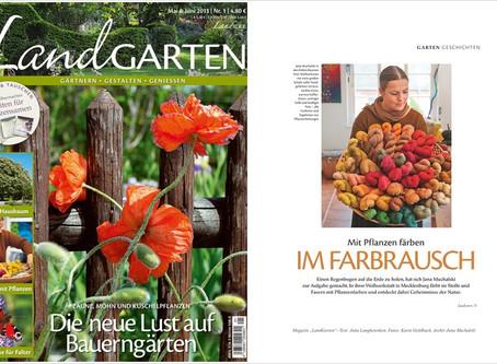 Das neue LandGarten Magazin