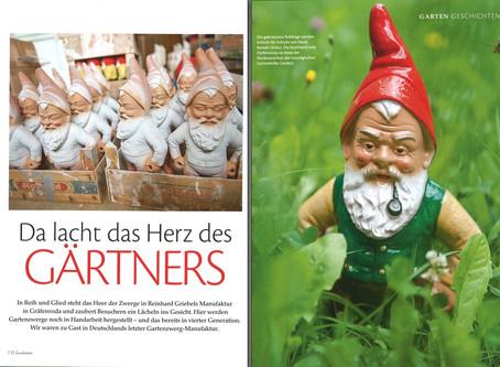 Gartenzwerg Manufaktur in Gräfenroda