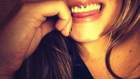 Smiley Piercing by Nick
